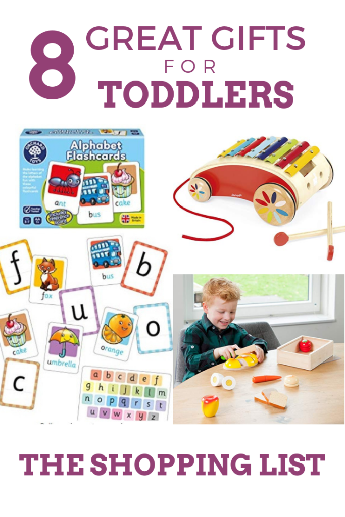 The Shopping List 8 Great Gifts for Toddlers