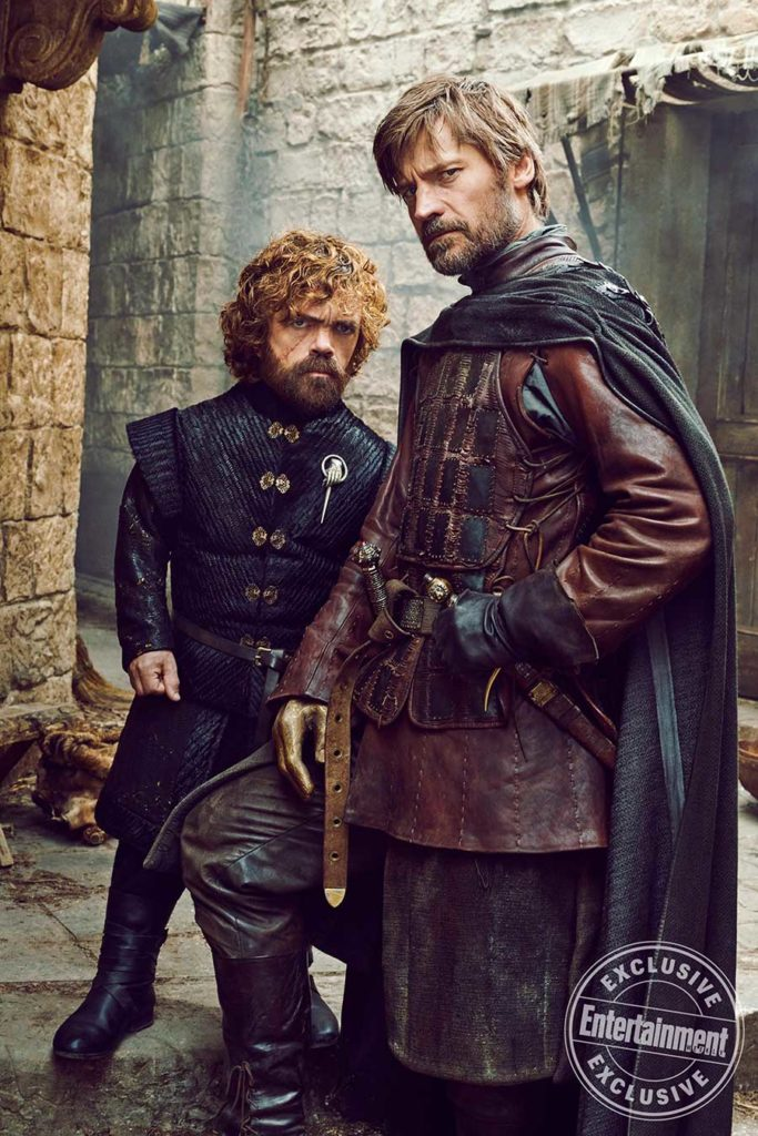 Game of Thrones Season photos Tyrion and Jaime Lannister