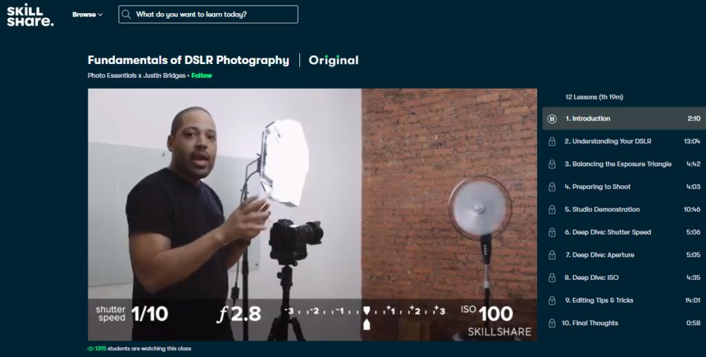 Fundamentals of DSLR Photography