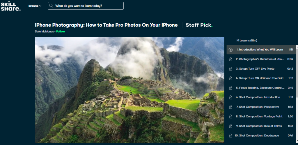 iPhone Photography: How to Take Pro Photos On Your iPhone Photography Classes Online Beginners to Advanced Level