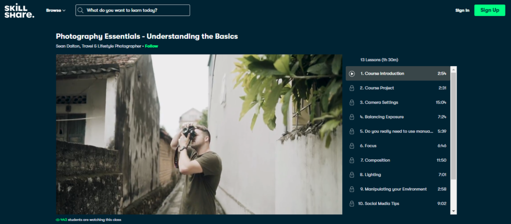 Photography Essentials - Understanding the Basics (For Beginners) Photography Classes Online Beginners to Advanced Level
