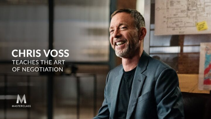Learn How to Save Lives (or Get a Raise!) with Chris Voss MasterClass