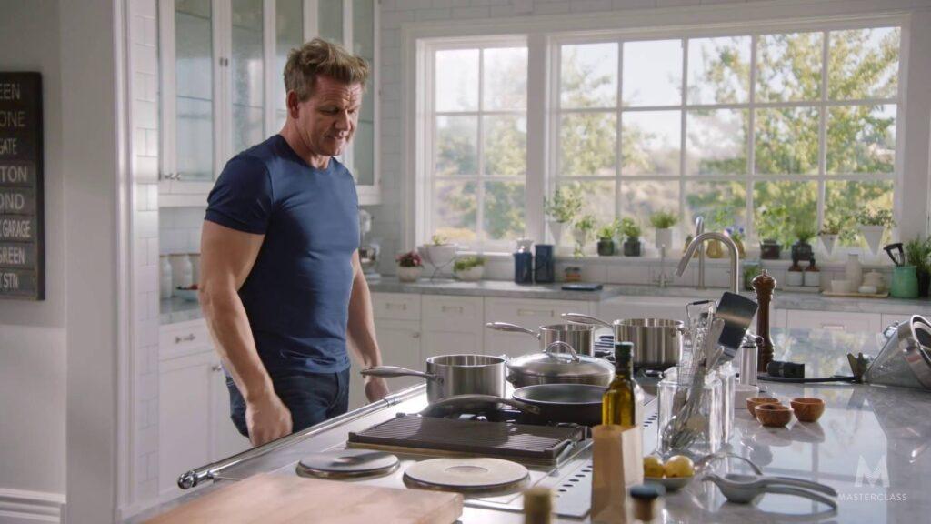 Gordon Ramsay kitchen tools
