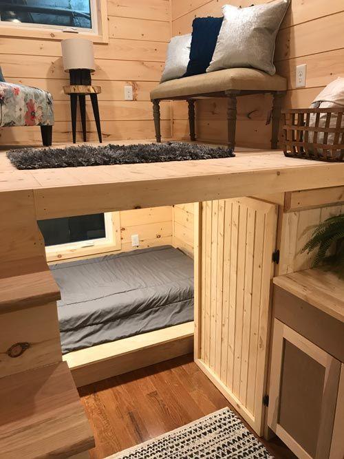 reverse loft bed