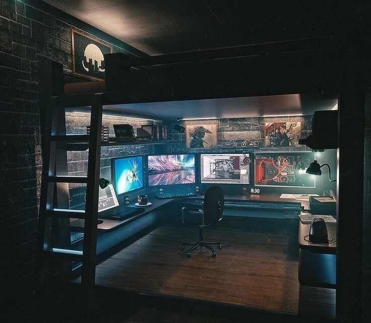 Loft Bed Plans for Gamers That You Should Try This 2021