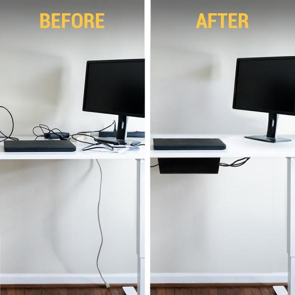 loft bed gaming room wire management